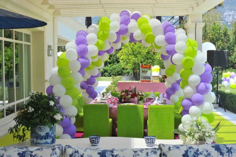 KIDS TABLE DECORATION FOR EVENTS & BIRTHDAY