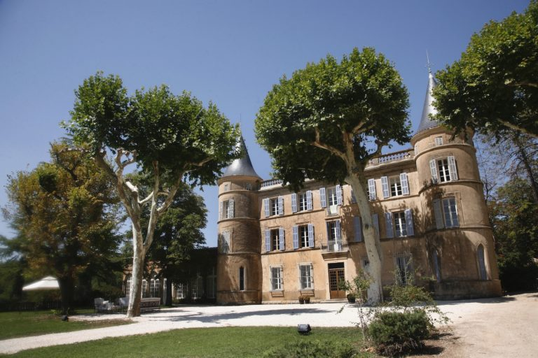 Princess Castle for kids birthday in Provence