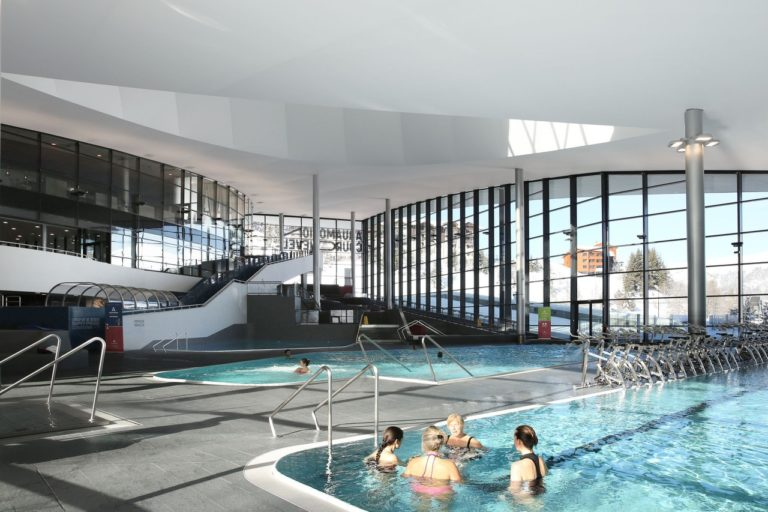 The pool - Aquatic Club Courchevel